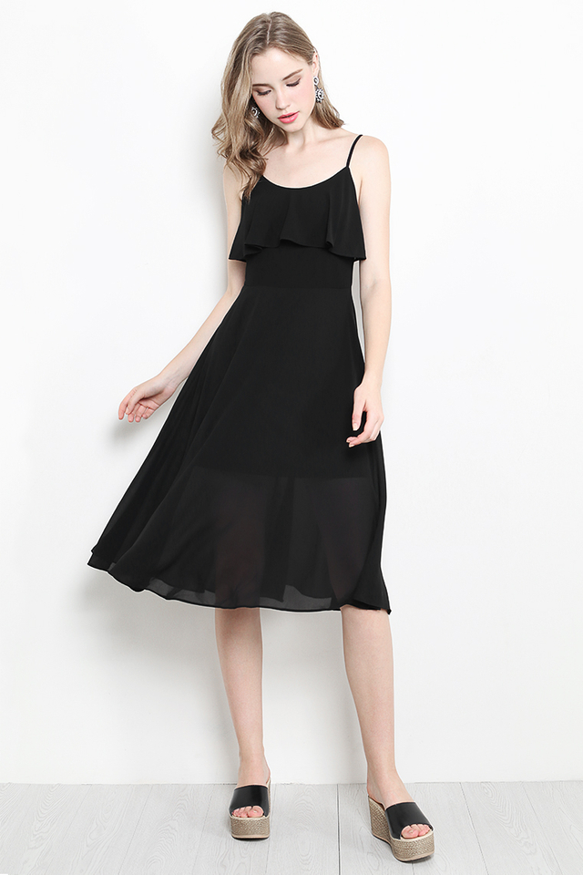 Narelle Dress Black