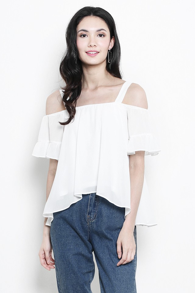 Daphne Top White