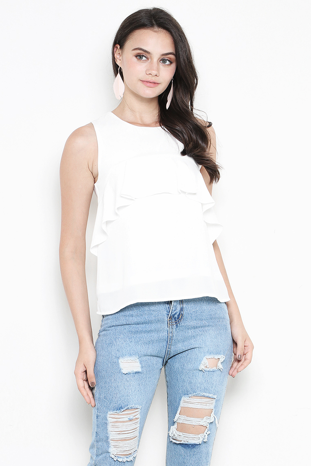 Clover Top White