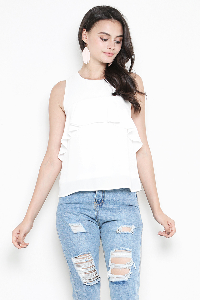 Clover Top White