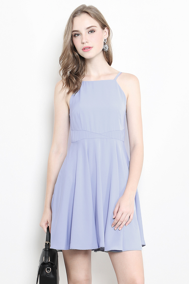 Paulina Dress Powder Blue