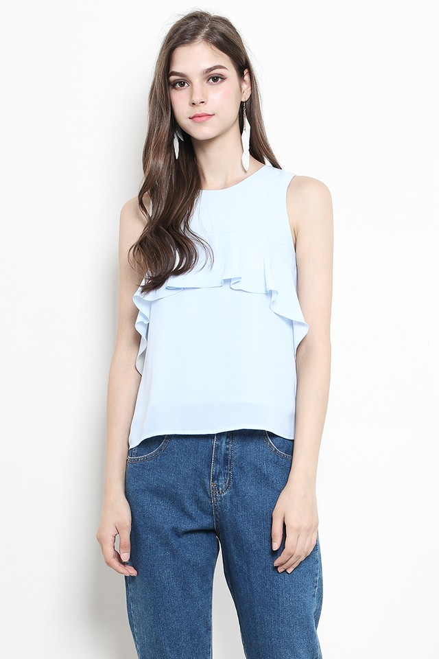 Clover Top Light Blue