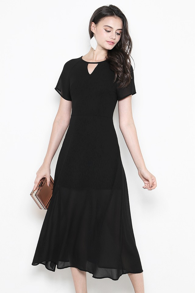 Rhoda Dress Black