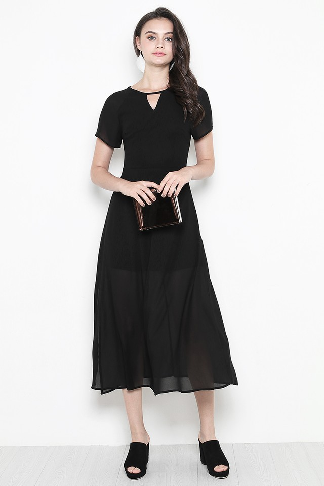 Rhoda Dress Black