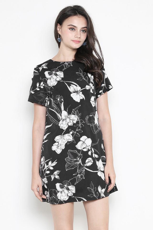 Kaye Dress Black Floral