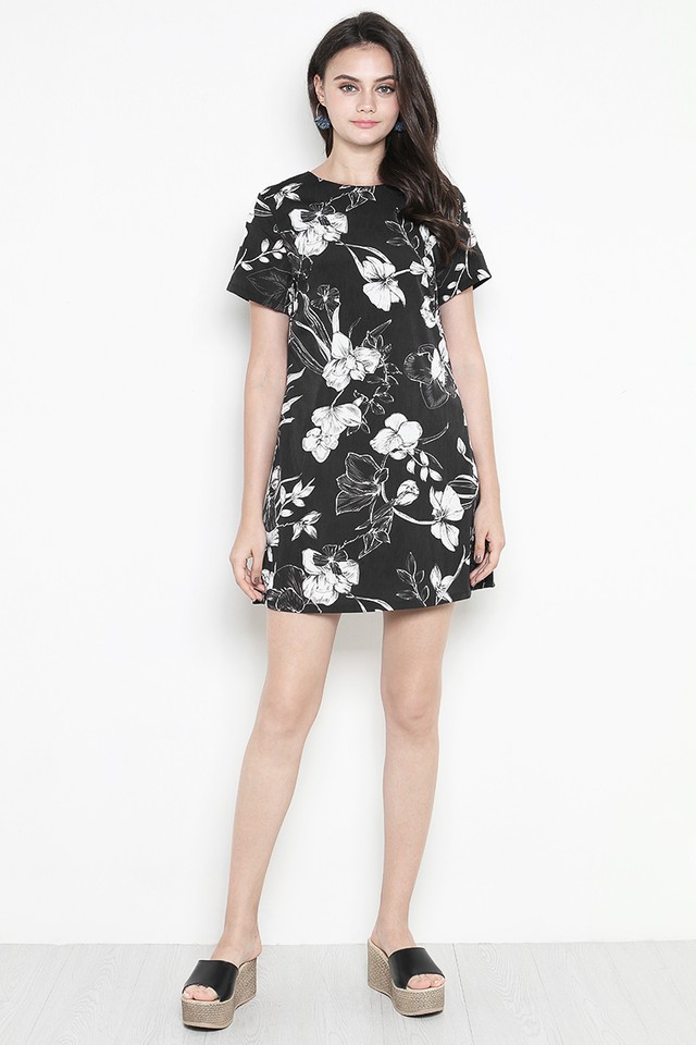 Kaye Dress Black Floral