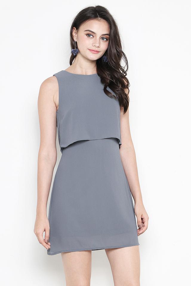 Keretha Dress Slate Grey