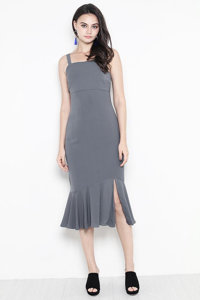 Kimmy Dress Slate Grey