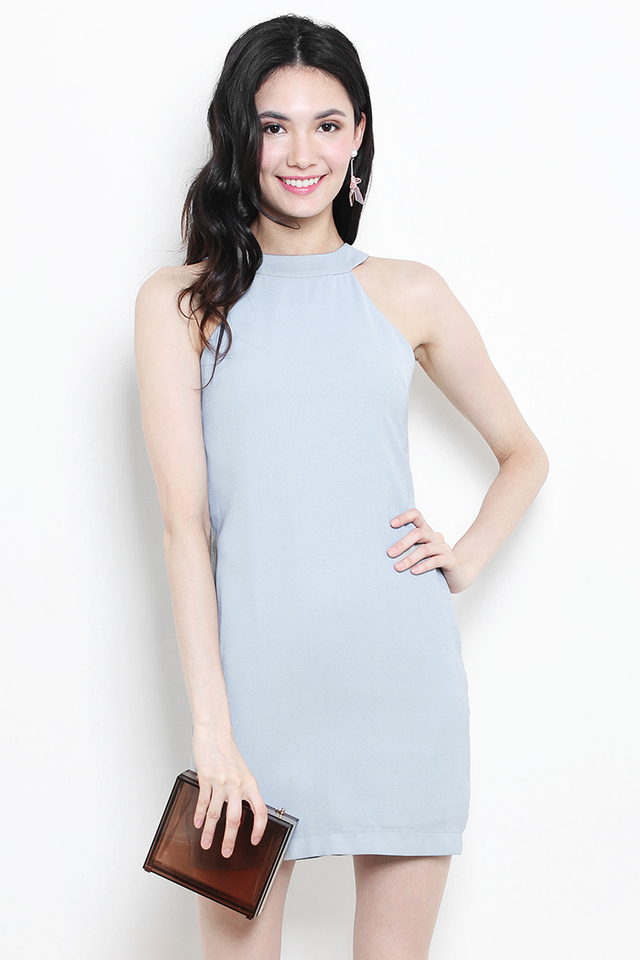 Sherrie Dress Dusty Blue