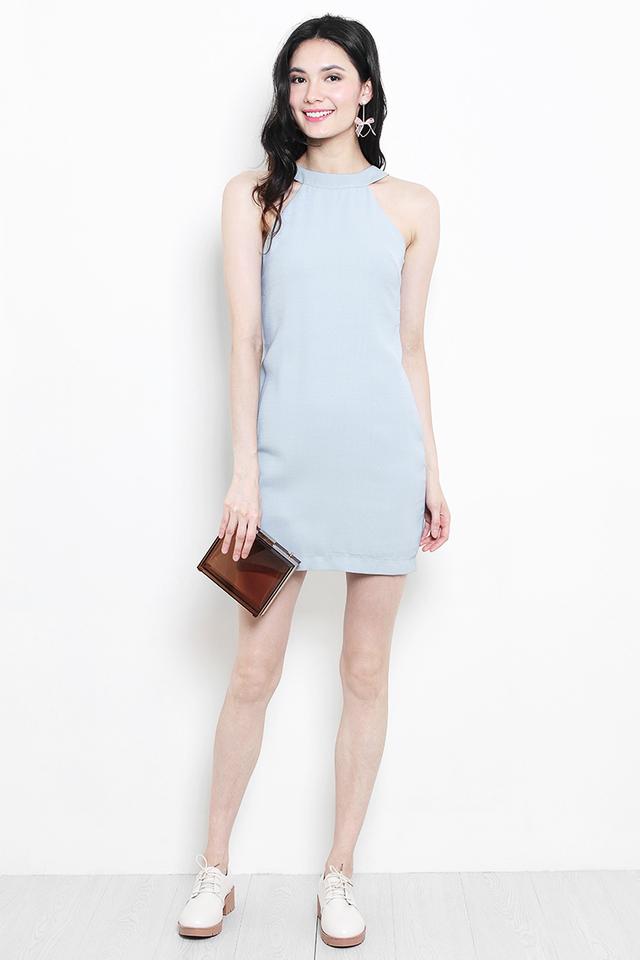 Sherrie Dress Dusty Blue