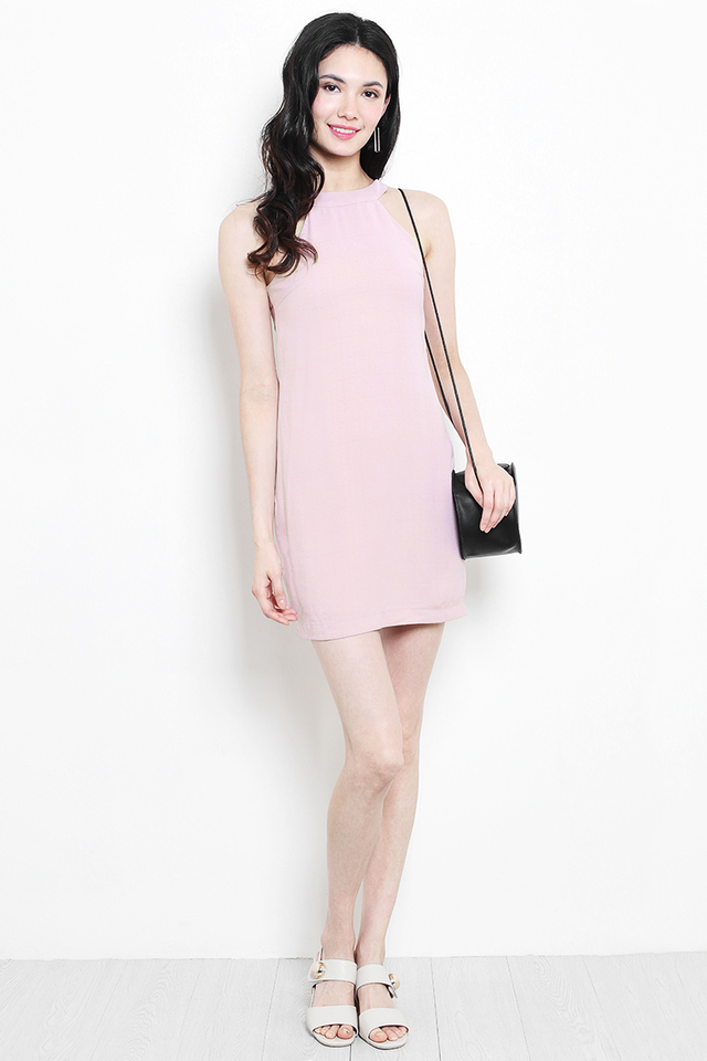 Sherrie Dress Dusty Pink