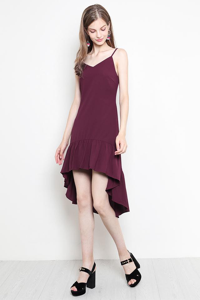 Bentha Dress Burgundy