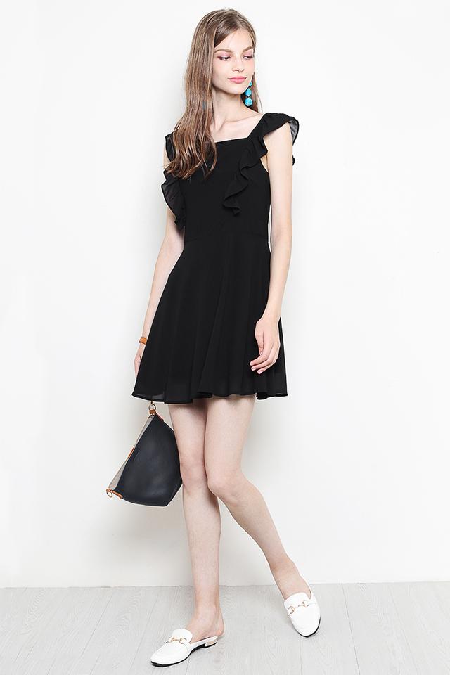 Vaine Dress Black