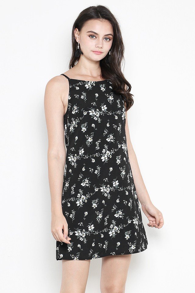 Clarity Dress Black Floral