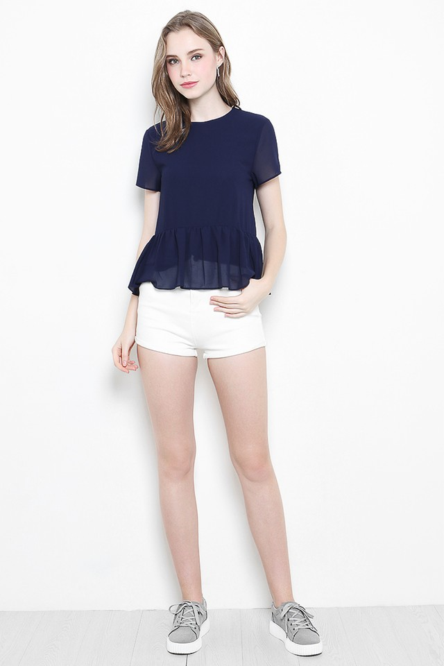 Kasey Top Navy