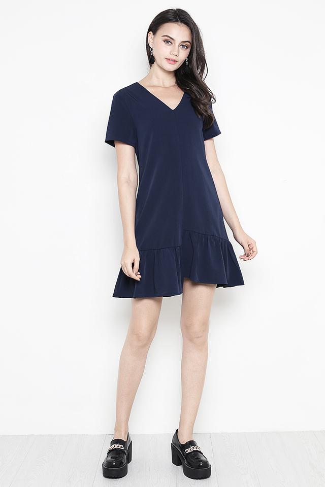 Arlette Dress Navy
