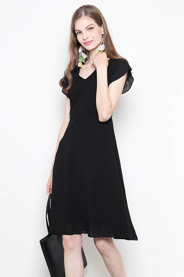 Henna Dress Black