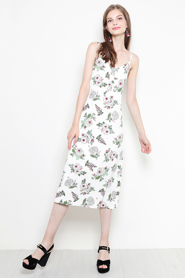 Alayna Dress White Floral