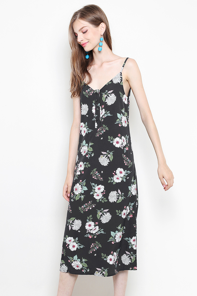 Alayna Dress Black Floral