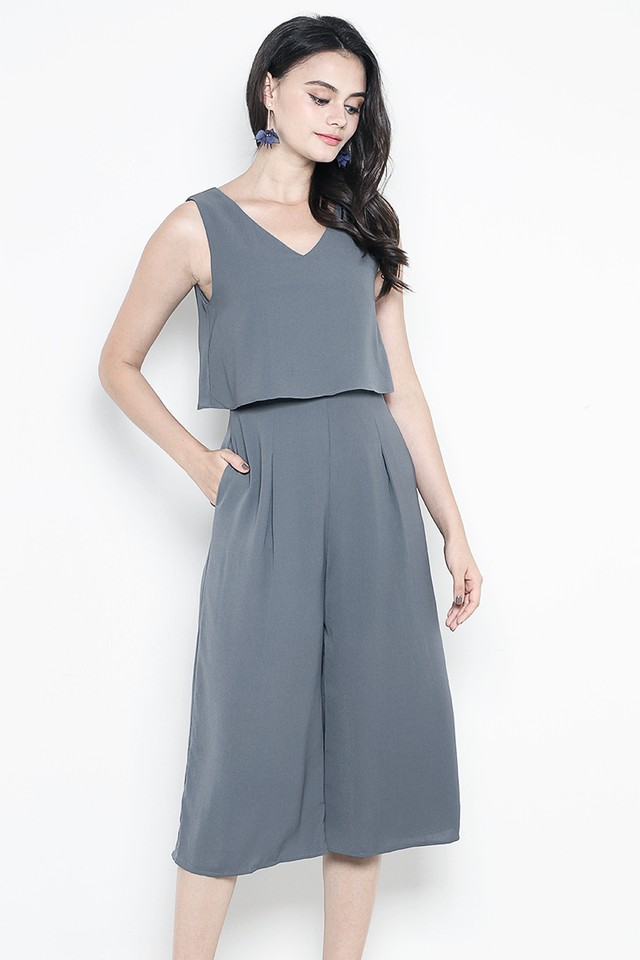 Jorina Jumpsuit Slate Grey