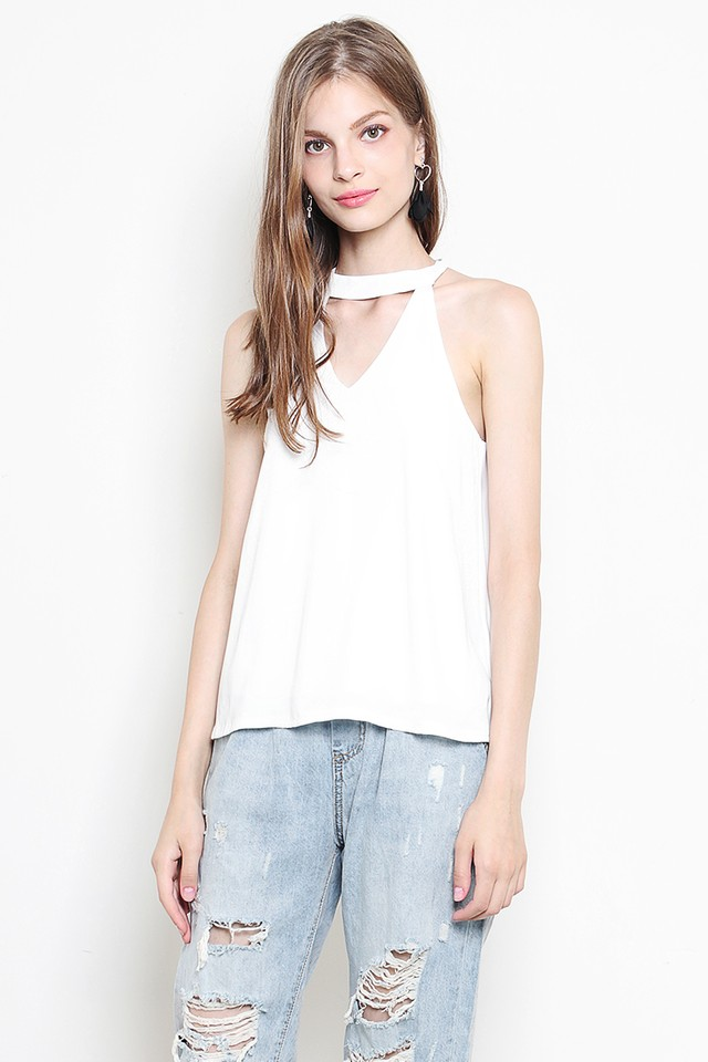Tyla Top White