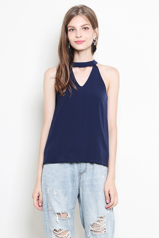 Tyla Top Navy