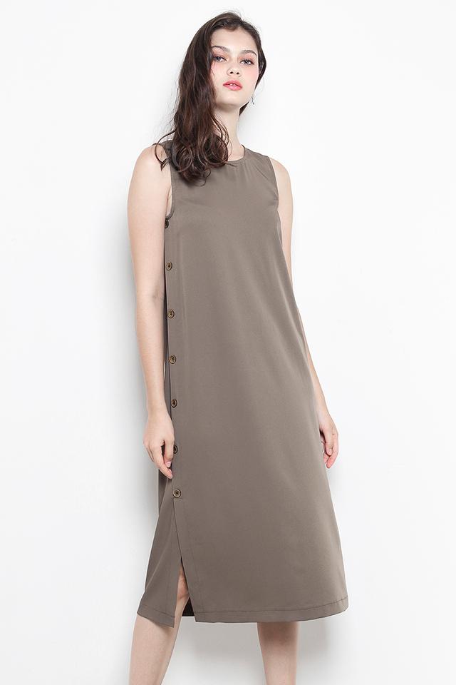 Elvira Dress Olive