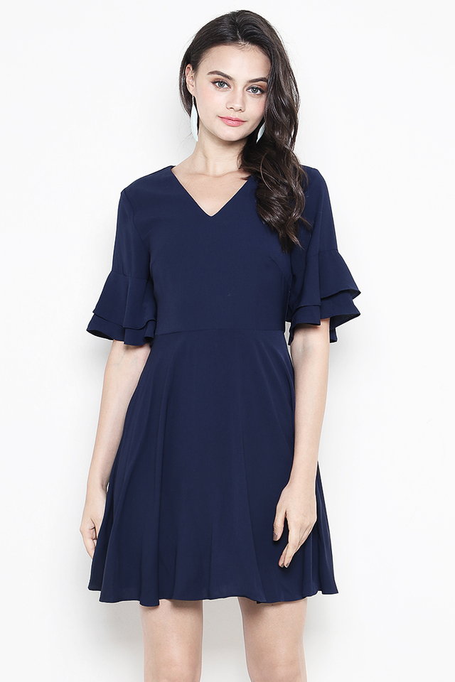 Jerin Dress Navy