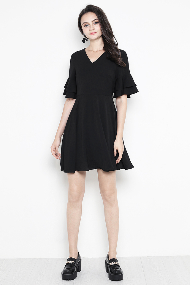 Jerin Dress Black