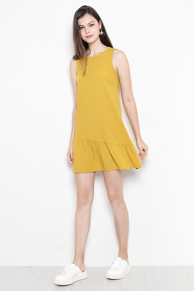 Lauryn Dress Mustard