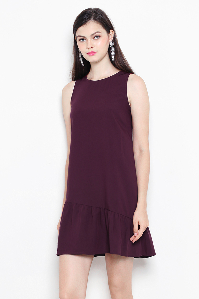 Lauryn Dress Burgundy