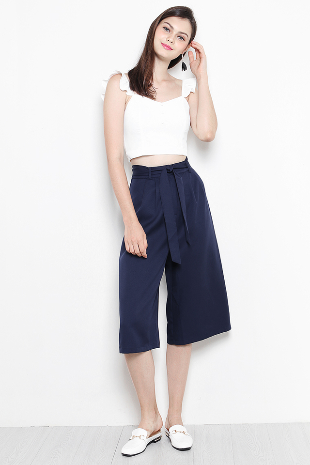 Avril Culottes Navy