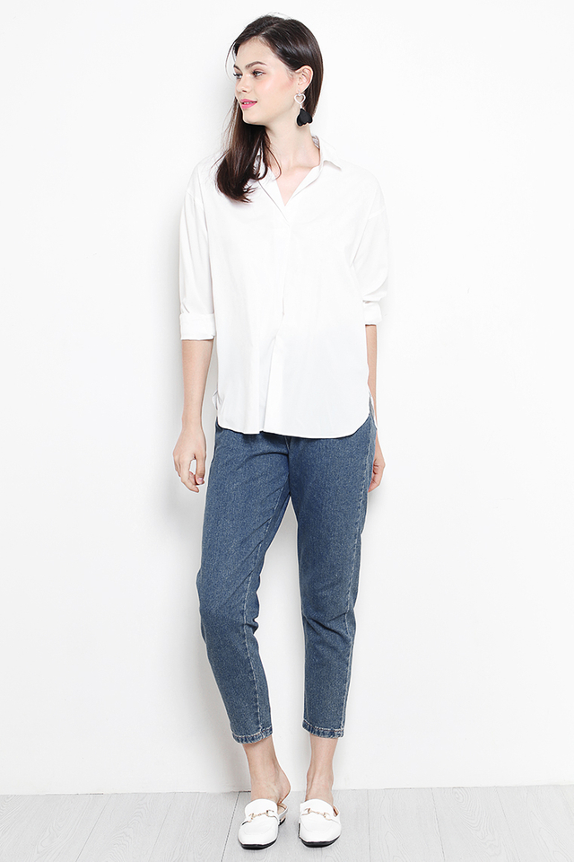 Yolanda Shirt White