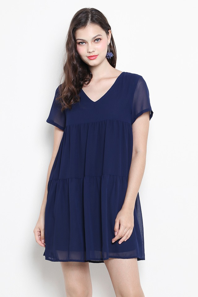 Cilla Dress Navy
