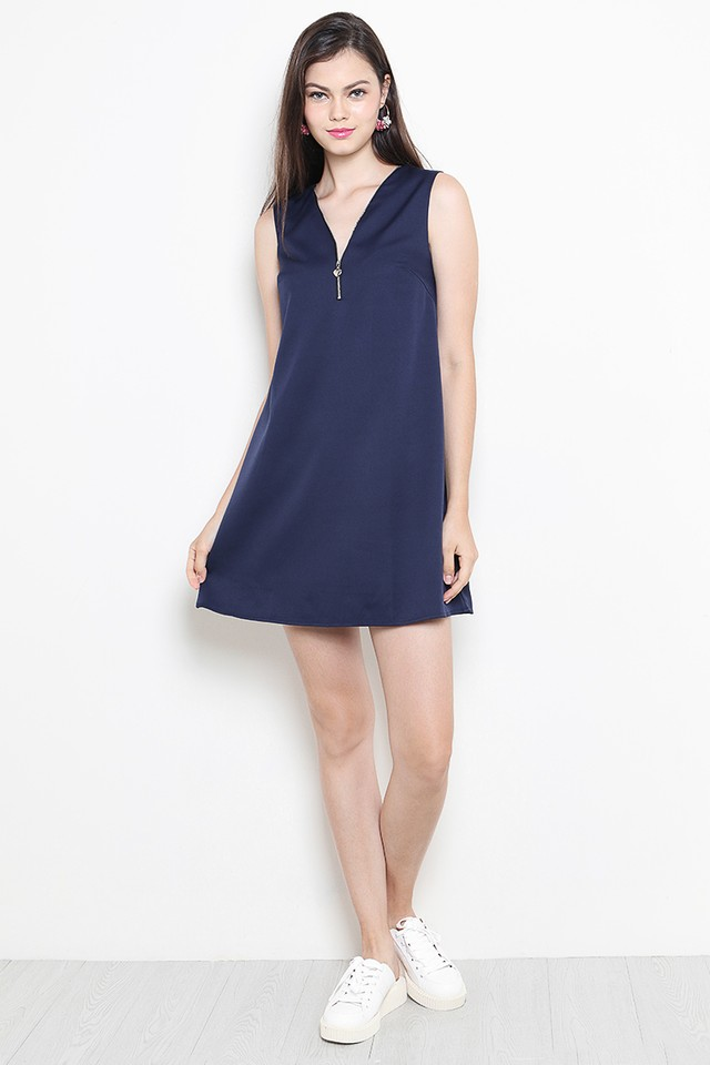 Skye Dress Navy