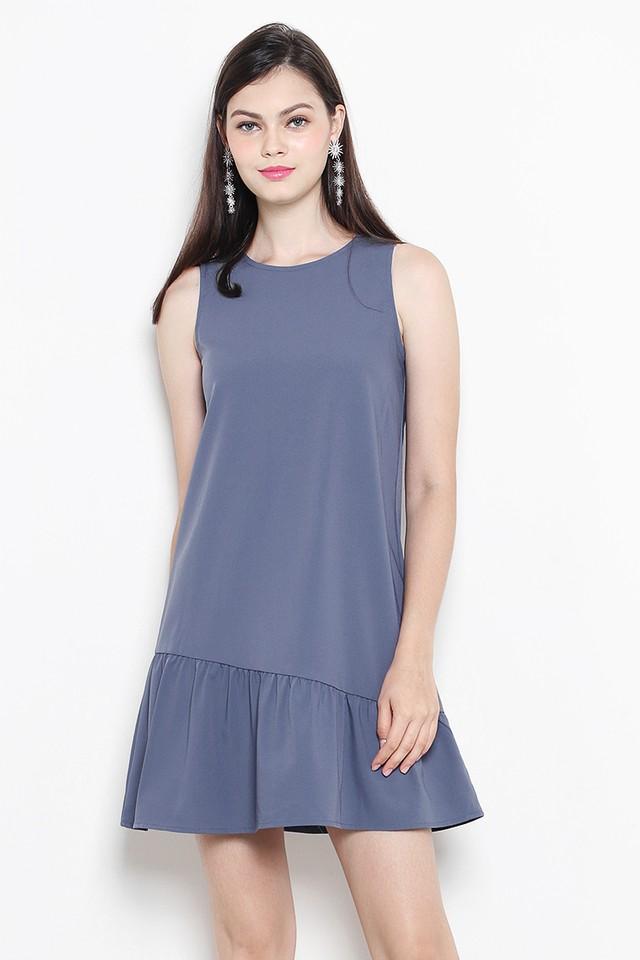 Lauryn Dress Ash Blue