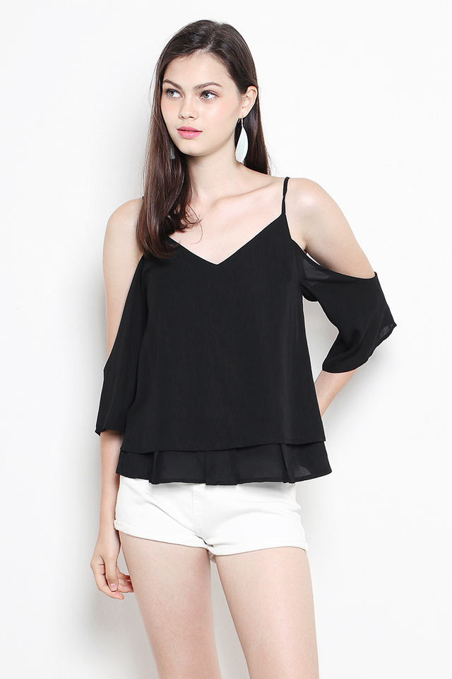 Margie Top Black