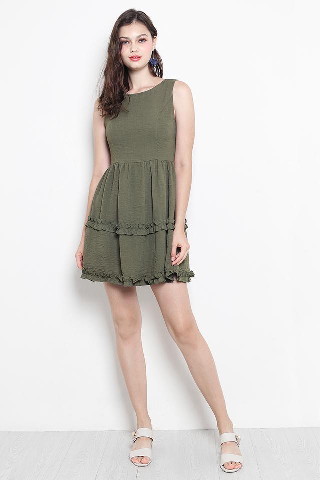 Jeevan Dress Olive