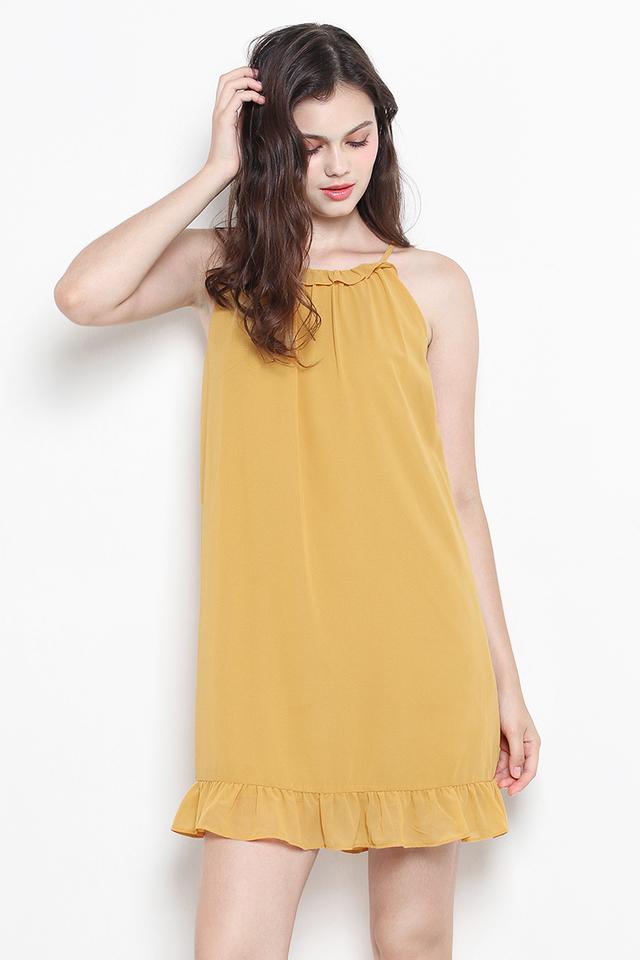 Anwen Dress Mustard