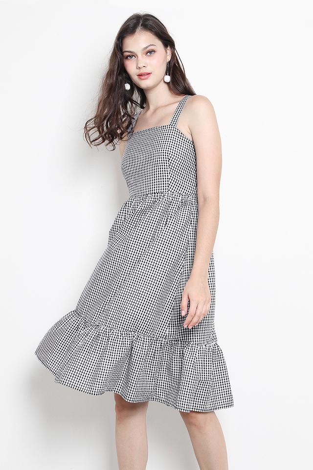 Aretha Dress Gingham