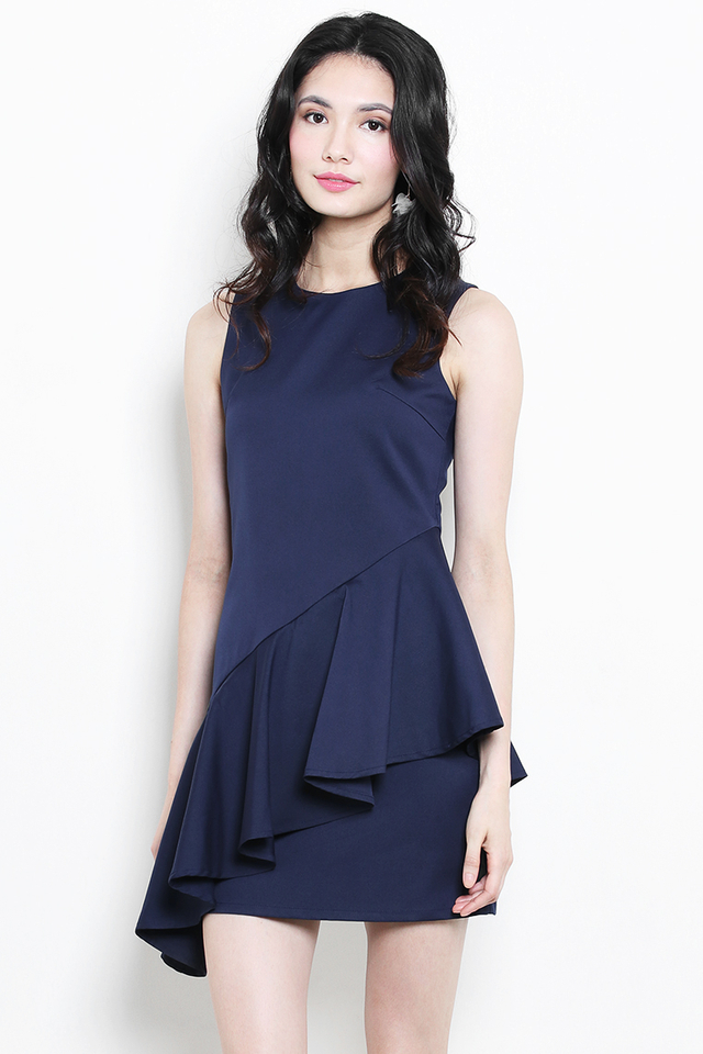 Shantell Dress Navy