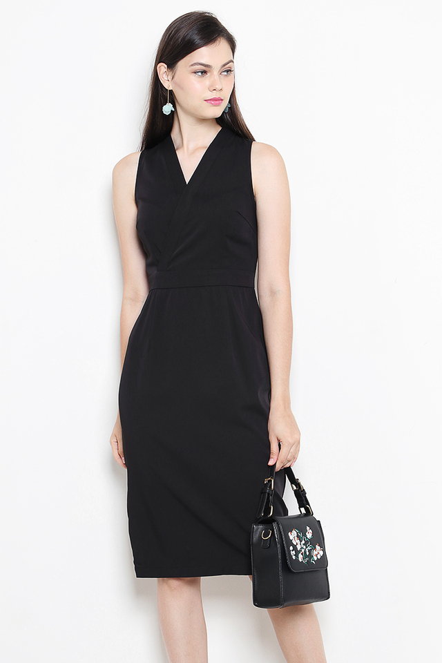 Liesel Dress Black