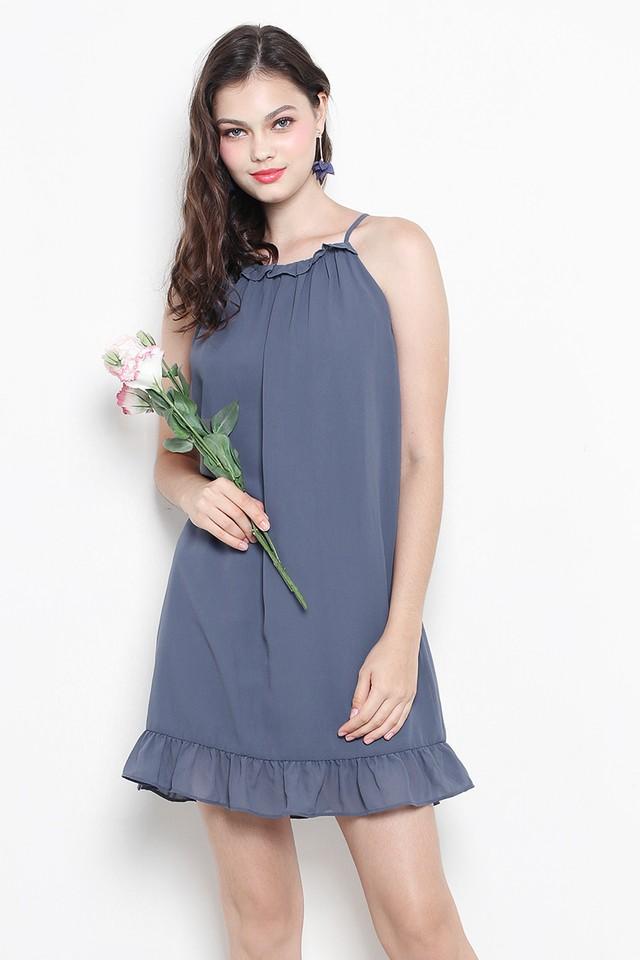 Anwen Dress Ash Blue