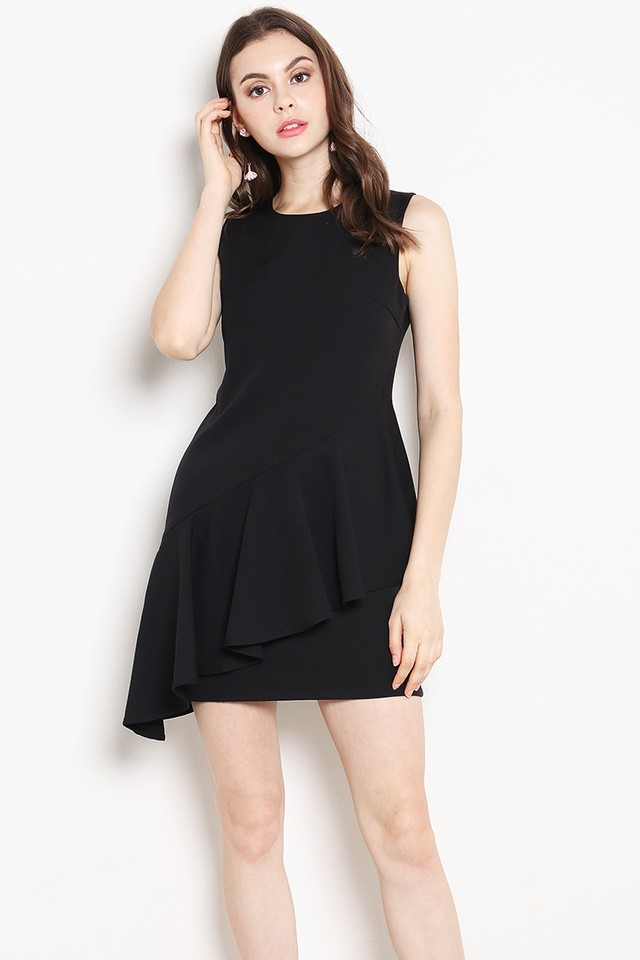 Shantell Dress Black