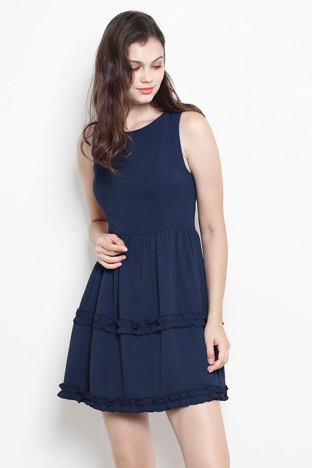 Jeevan Dress Navy