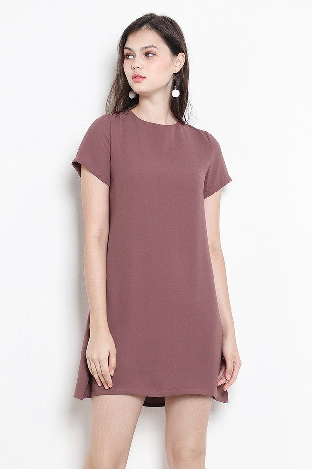 Nikita Dress Mauve