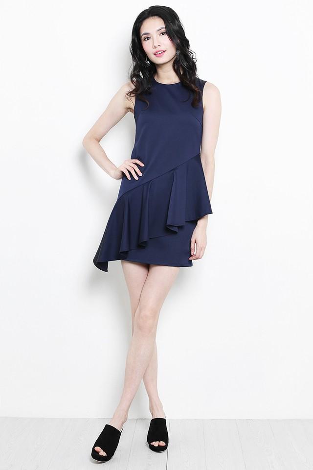 Shantell Dress Navy
