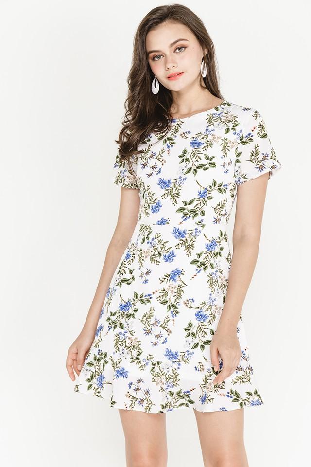 Lavana Dress White Floral