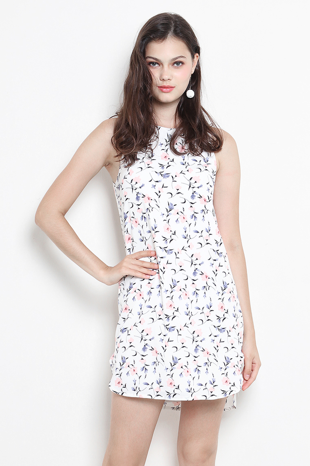 Andie Dress White Floral