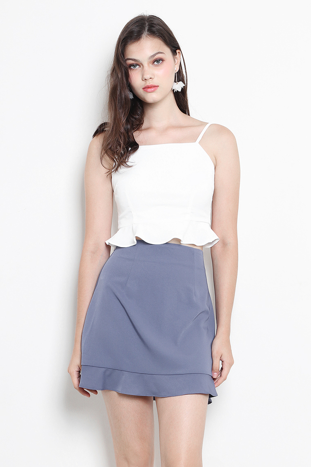Avalon Skirt Ash Blue